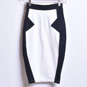 Bebe Glacier Pencil Skirt, Sz XXS